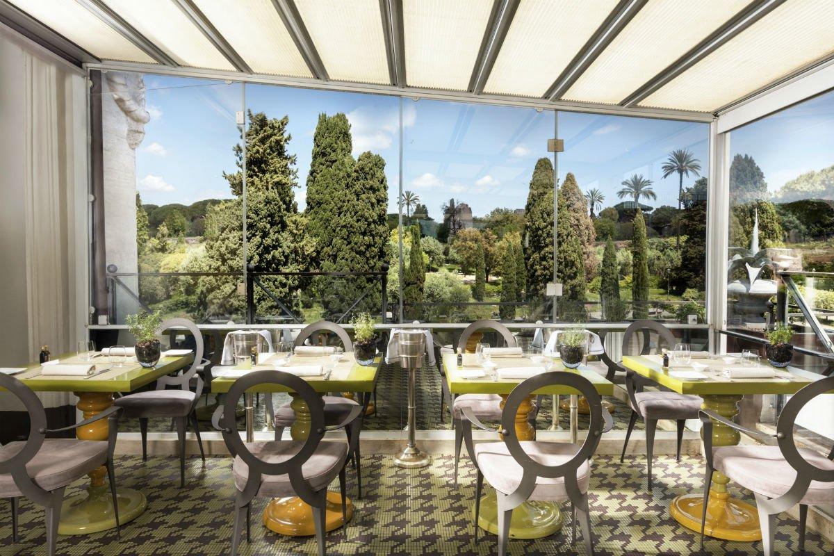 Terrace at Palazzo Manfredi
