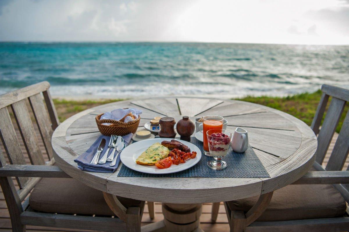 Breakfast views.