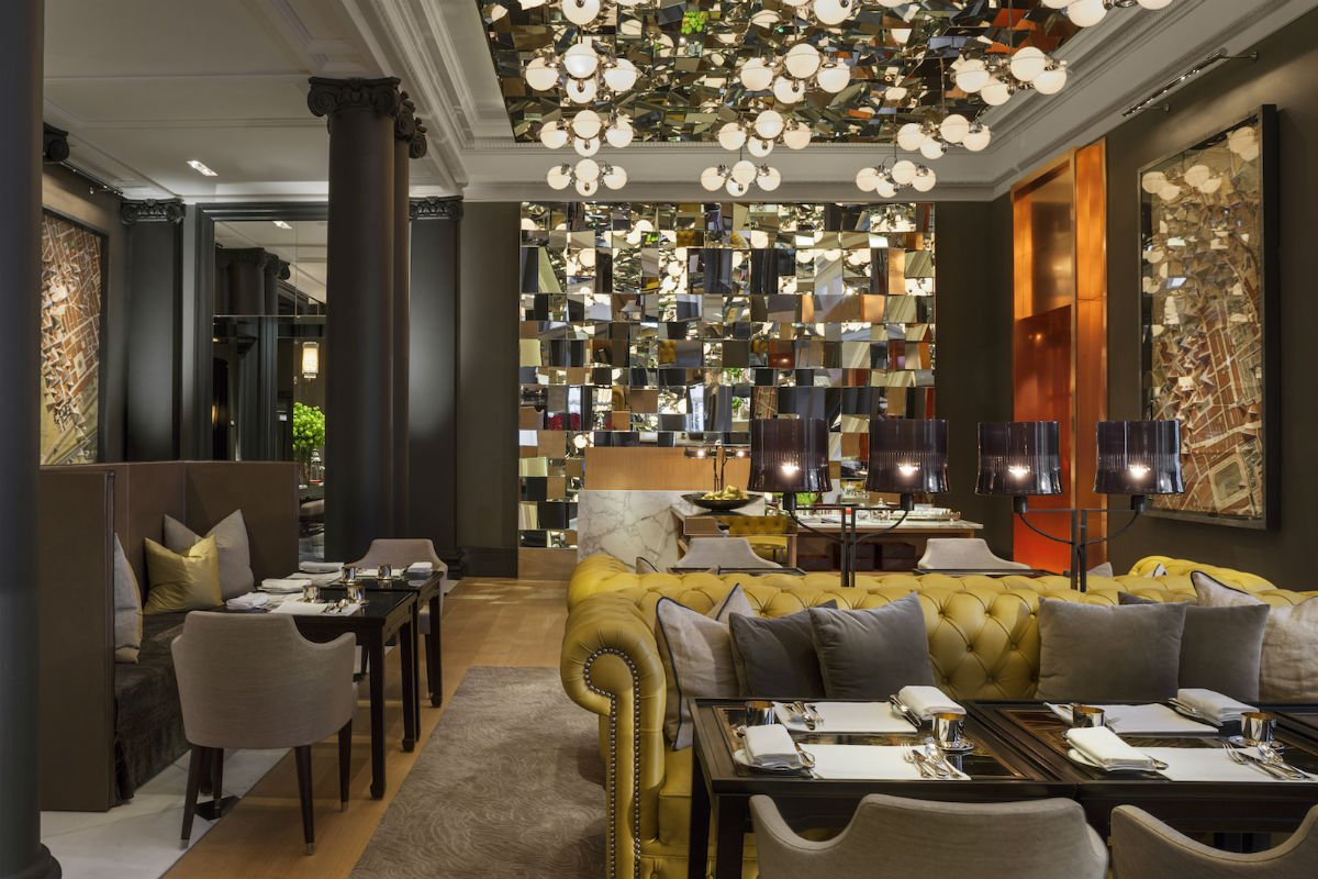 The Mirror Room at Rosewood London.