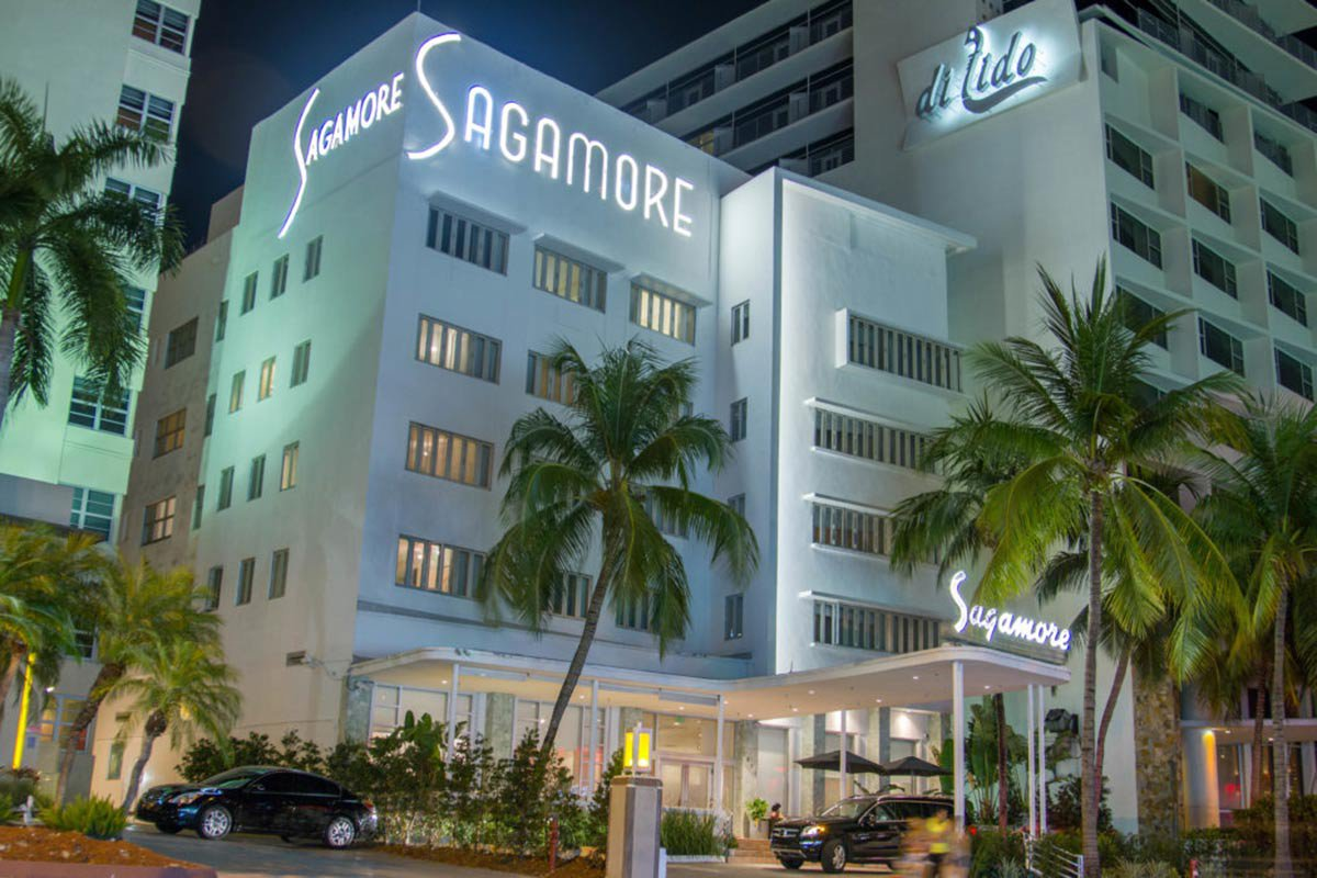 The Sagamore Miami Beach.
