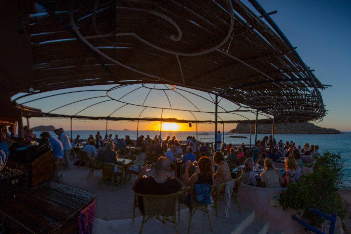 Sunset ashram, Ibiza.