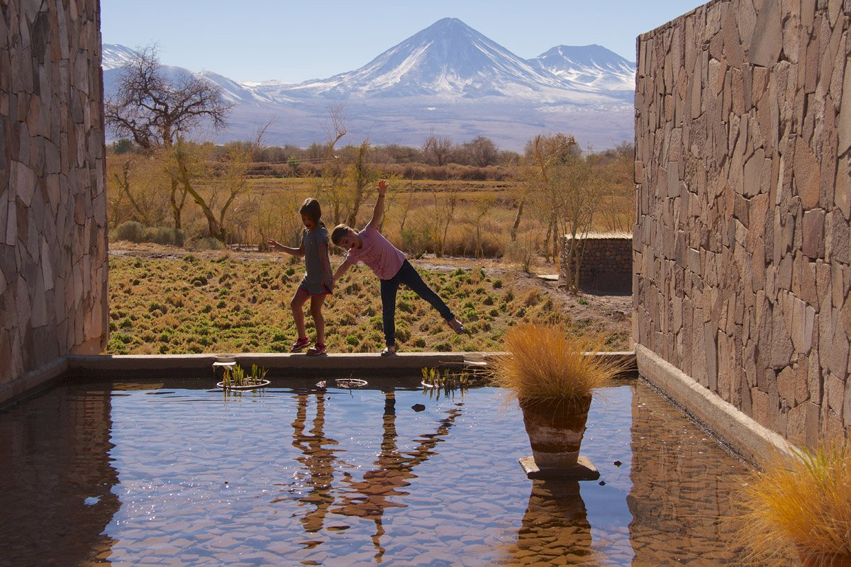 Living it up at Tierra Atacama. Photo by Greg Poschman.