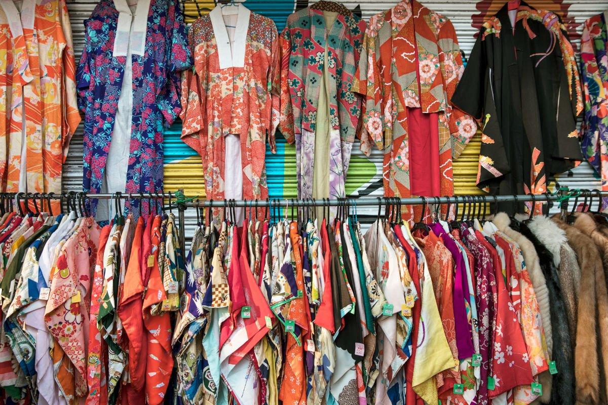 Vintage Kimonos.