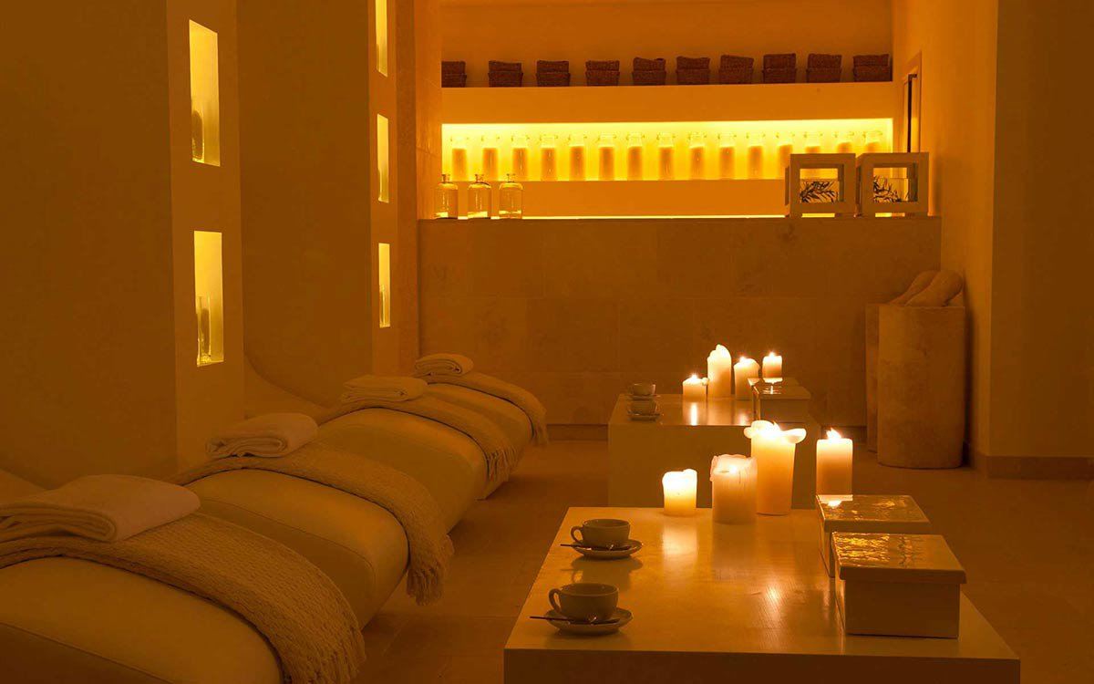 Candelit Room at Vair Spa.