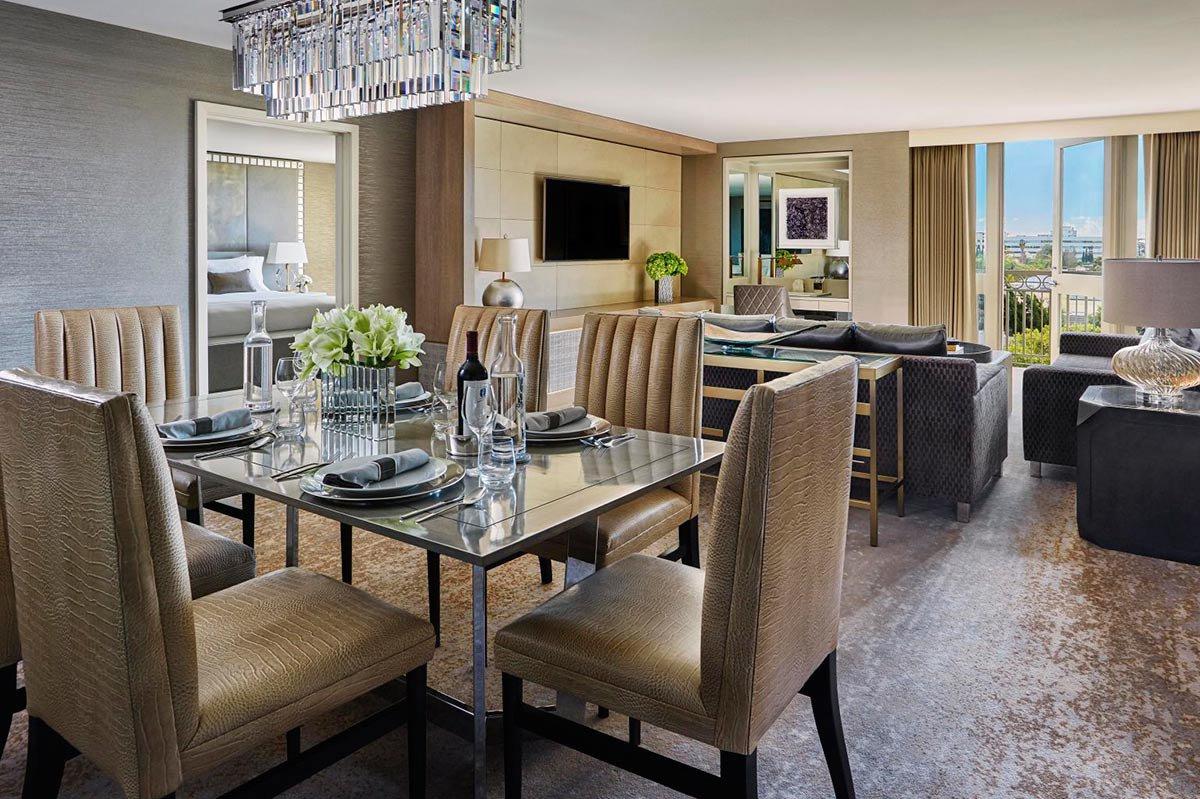 Royal suite living room.