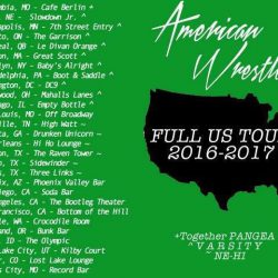 American Wrestlers U.S. Tour Starts Today