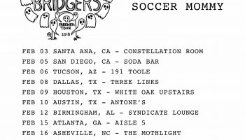 Soccer Mommy Announces February Tour with Phoebe Bridgers