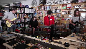 Youth Lagoon plays a few songs for NPR's Tiny Desk Series, including two tracks off their latest album, Savage Hills Ballroom