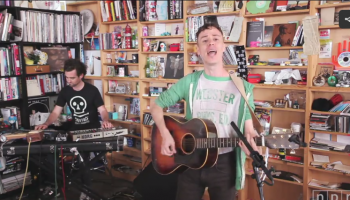 Watch John Congleton Play Live On NPR Music's Tiny Desk