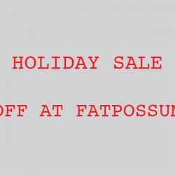 Fat Possum 25% Off Holiday Sale