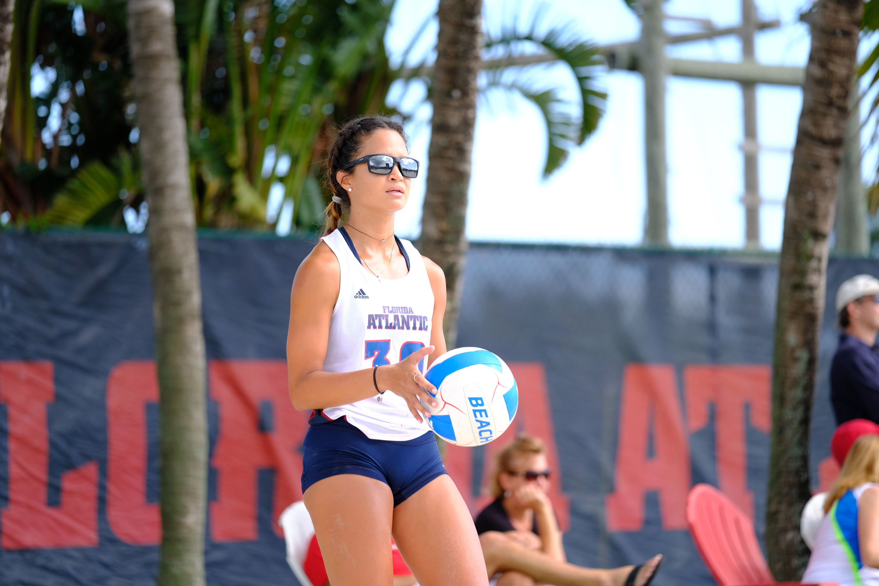 2017 FAU Beach Volleyball vs Webber International  Nicole  Navarro (30