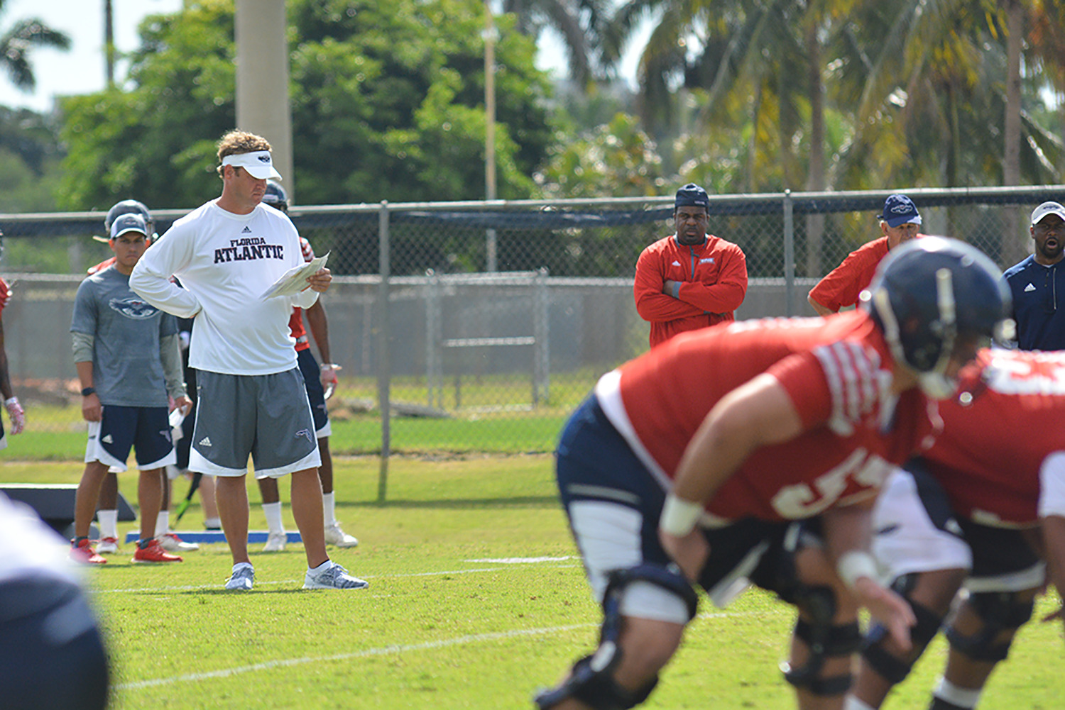 2017 Coaches Caravan Stop No 2 Is At The Heart Of Fau Football
