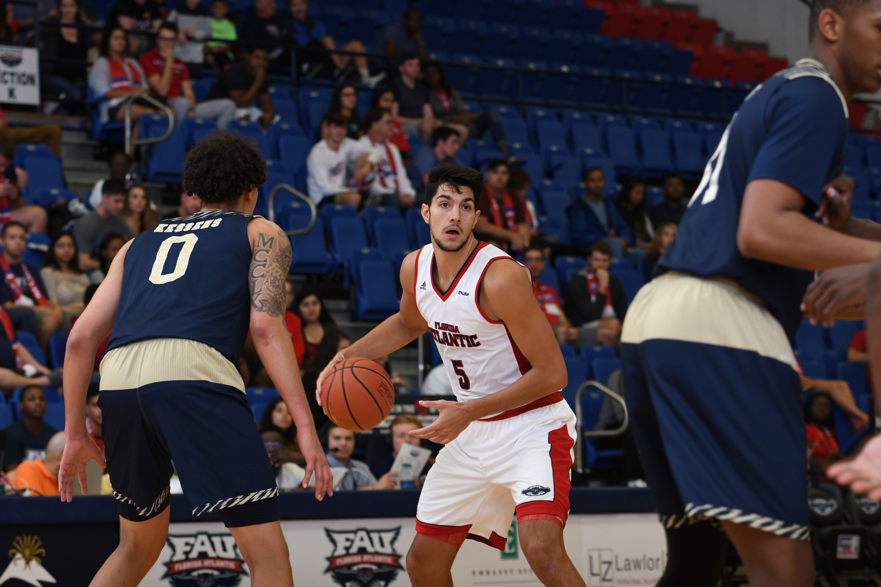 William Pfister (pictured) and Gerdarius Troutman were named to the NABC Honors Court.