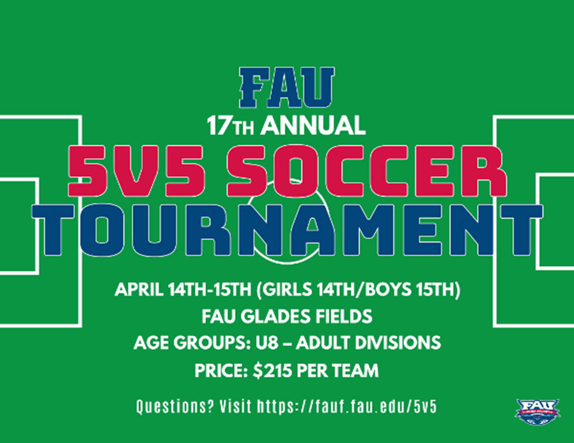 Mens And Womens Soccer To Host 17th Annual 5v5 Tournament