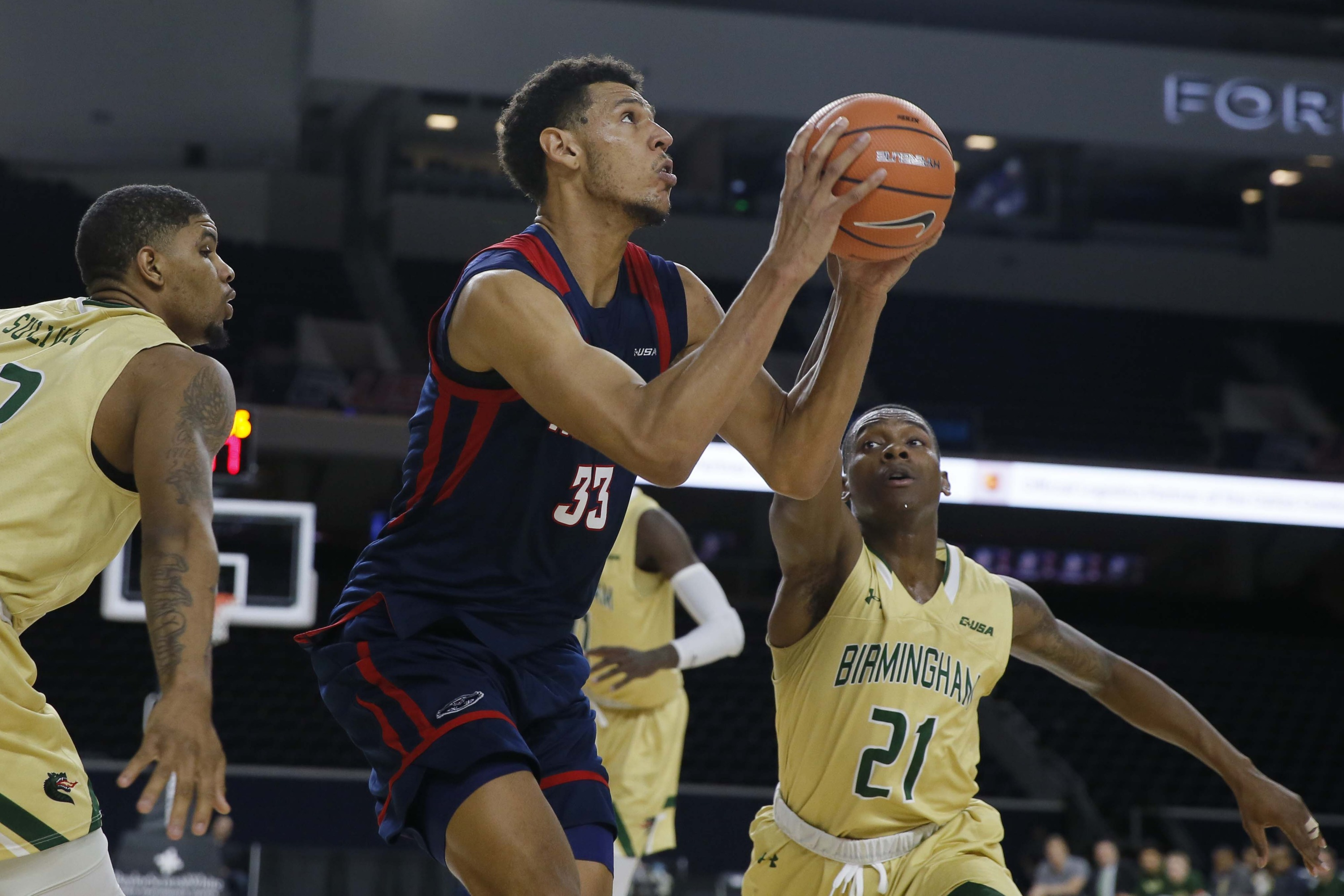 men's basketball's falls to uab 83-72 at c-usa tournament - florida