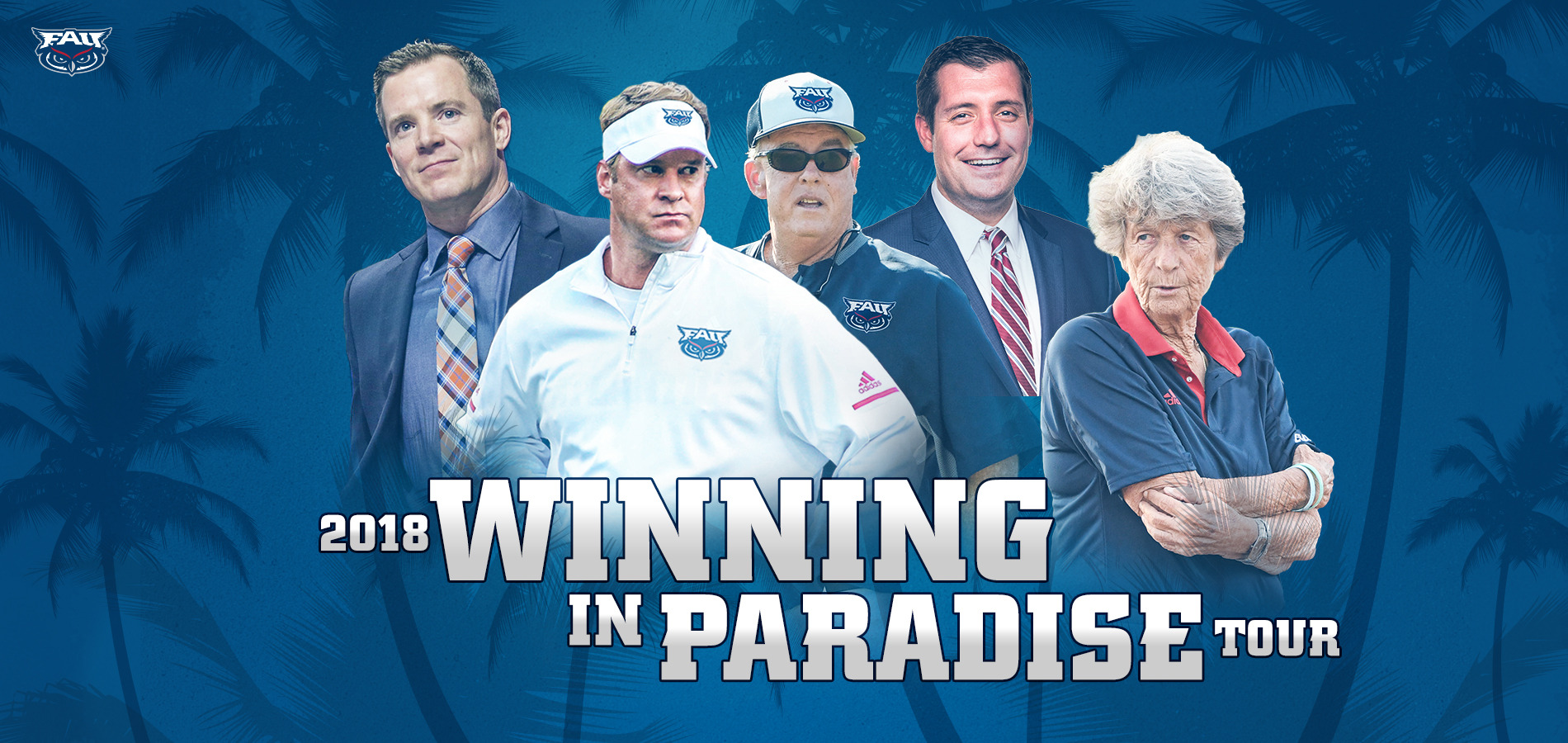 The Winning in Paradise Tour will take place at three different Duffy's locations.