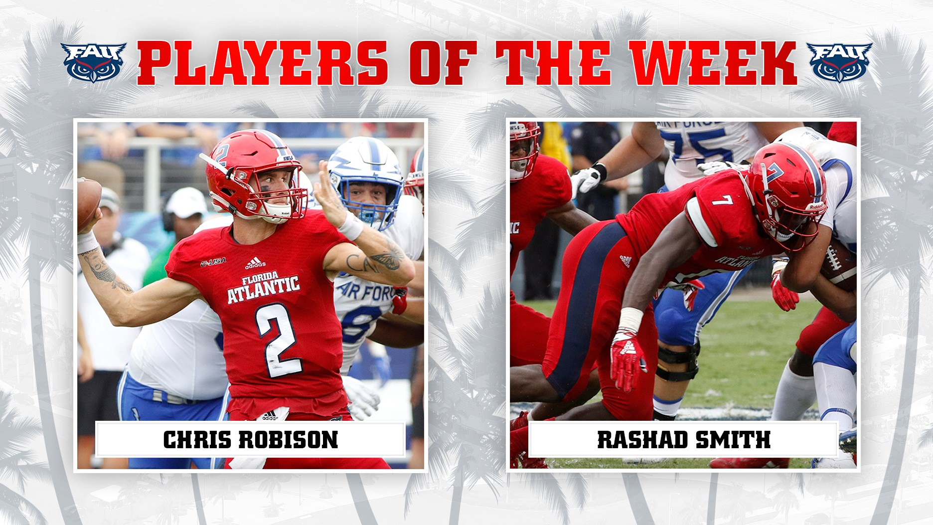 C-USA Players of the Week  Robison-Smith