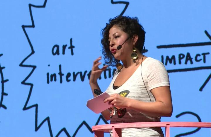 Favianna at Creative Time Summit