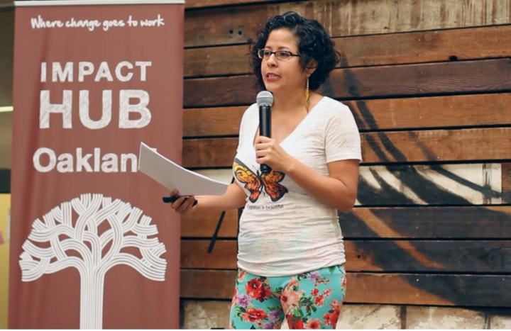 Favianna at Creative Mornings: Changing the Narrative