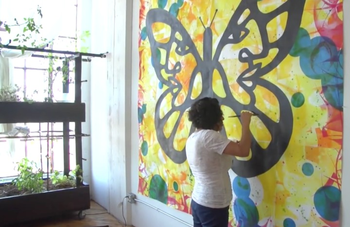 Butterfly Art Gives Immigration Activists Wings