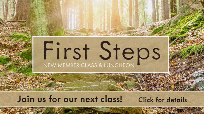 First Steps New Member Class
