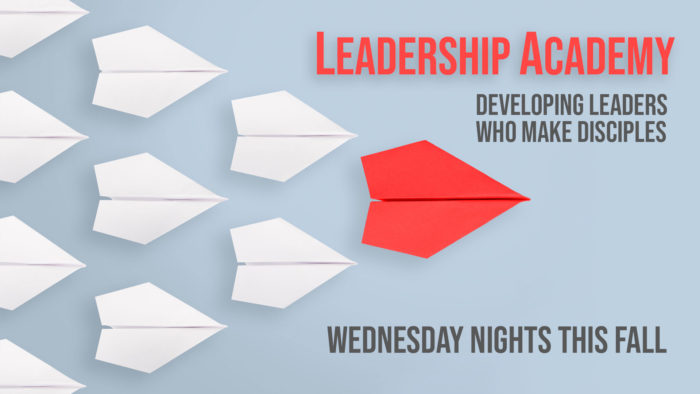Leadership Academy Forwarding Page