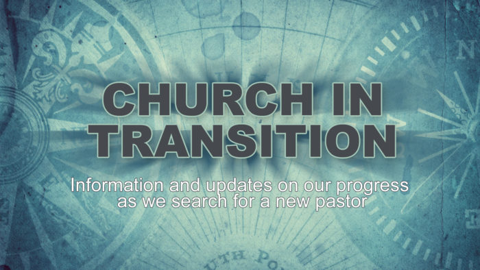 Church in Transition Forward Page