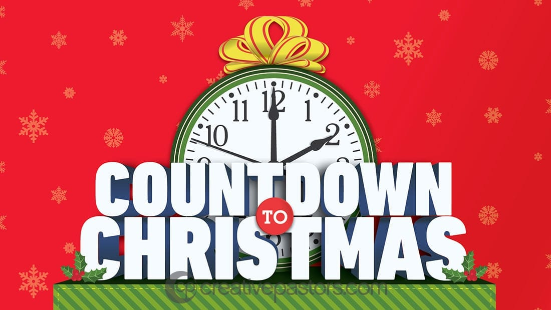 countdown to christmas series graphic - Countdown To Christmas
