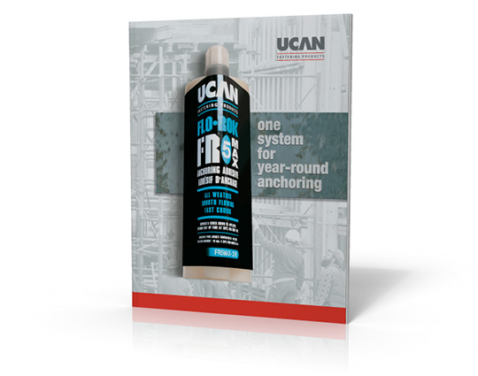 sales brochure manufacturing canada layouts anchoring system UCAN