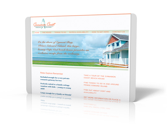 rental accommodation marketing and websites