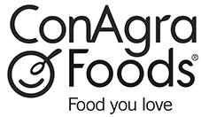 Conagra Foods Logo Food Retail Brand support design