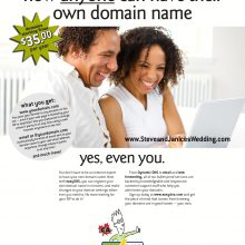 easydns now anyone can have their own domain name magazine ad