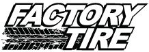 Factory Tire Logo Tire Retail Canadian design and marketing support