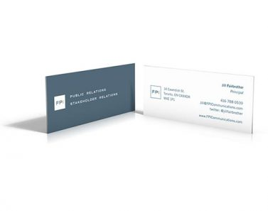 FPI Business Cards corporate identity stationery stystems