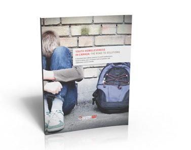 effective report design layout youth homeless 4 colour process canada raising the roof