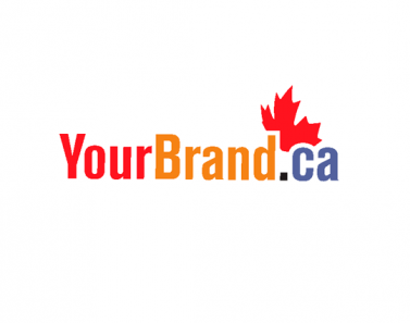 logo with maple leaf ecommerce marketing and branding