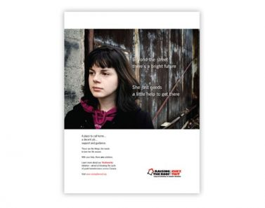 youthworks magazine ad launch campaign