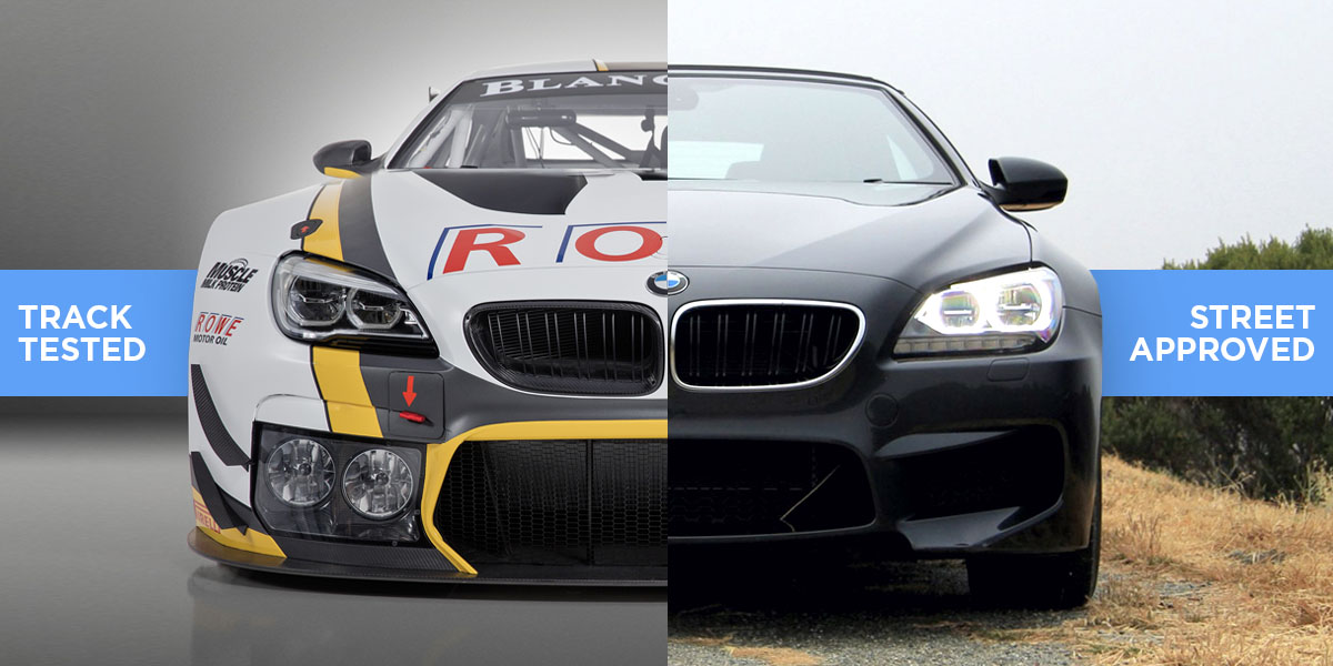 Trusted from Race to Road: ROWE Professional Oils & Lubricants