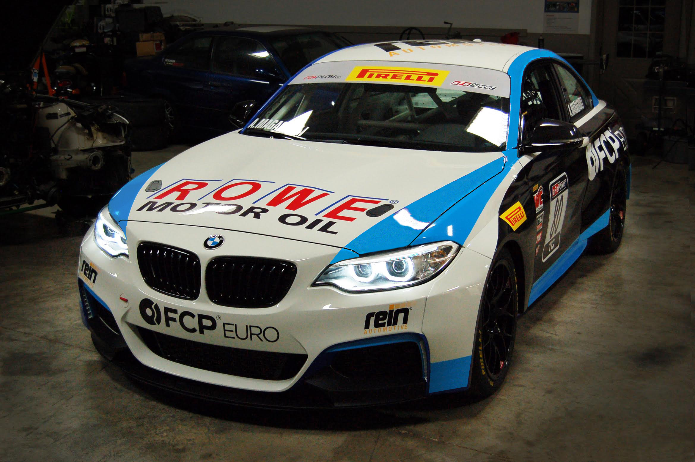 FCP Euro Partners with Rooster Hall Racing for 2017 Pirelli World Challenge Season