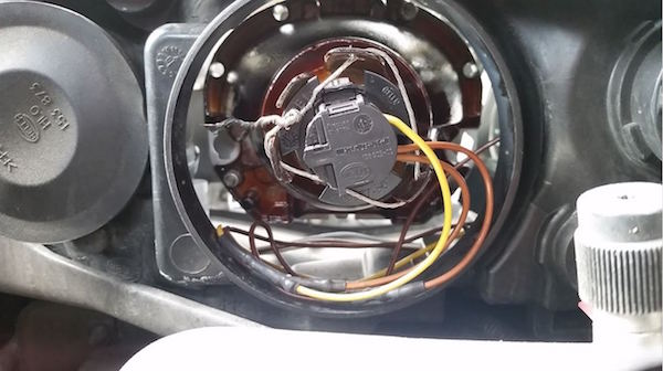 How To Reinforce A Broken Headlight Retainer On A Saab 9