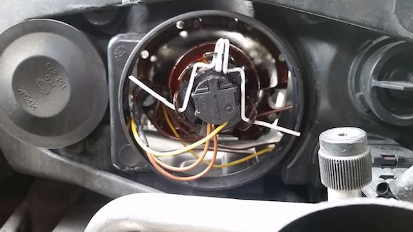 How to Reinforce a Broken Headlight Retainer on a Saab 9-3