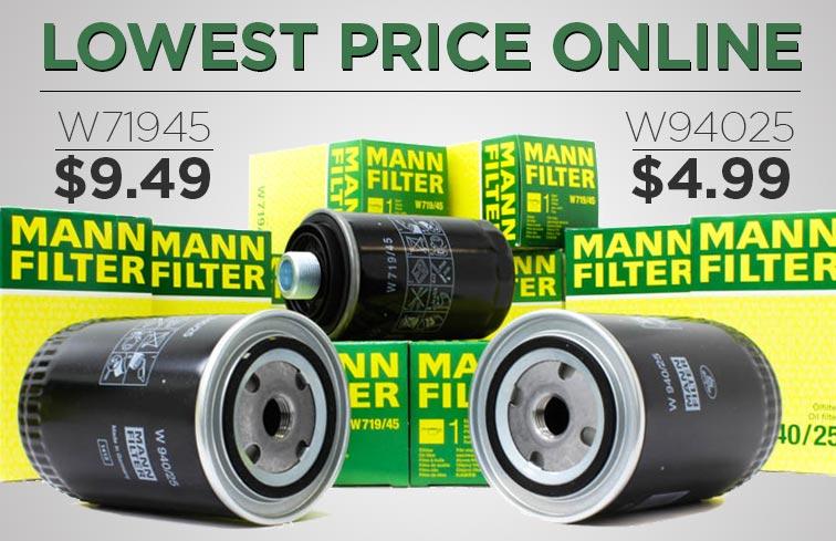mann oil filters lowest price online. Black Bedroom Furniture Sets. Home Design Ideas