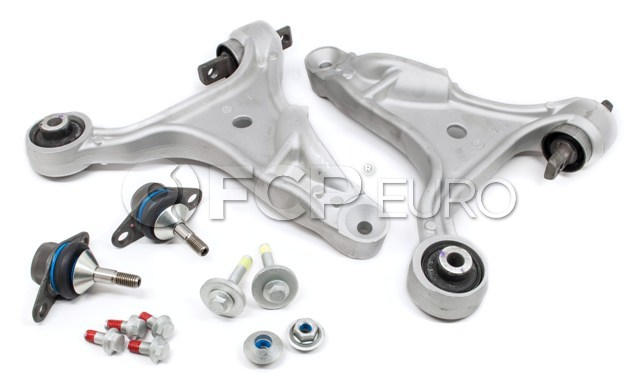 Front Lower Control Arms w// Ball Joint Sway Bar Link Set for Volvo 850 V70 S70