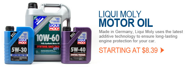 Liqui Moly Motor Oil In Stock and SHIPS FREE