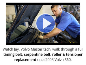 Volvo timing belt replacement video