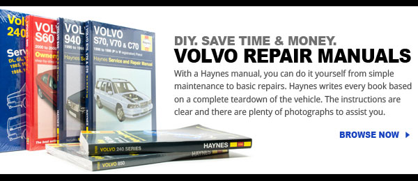 Volvo repair manuals in stock and ready to ship at FCP