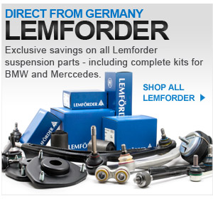 10% off and free shipping, Lemforder auto parts