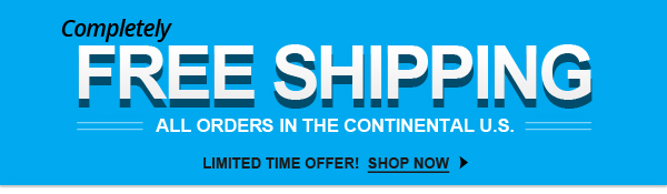 Free shipping on all U.S. orders at FCP
