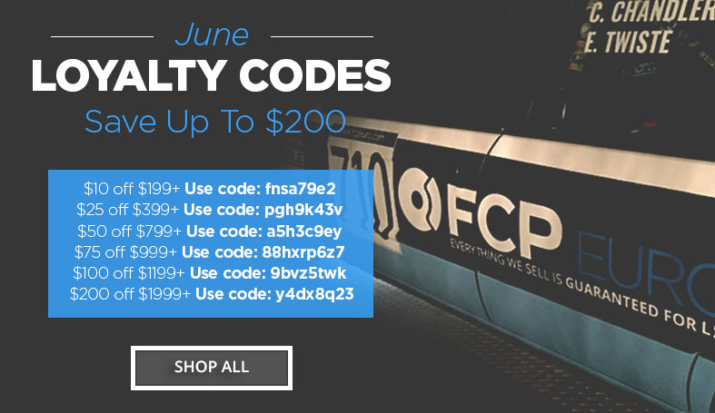 FCP Euro Forum Loyalty Codes