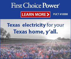 Texas electricity for your Texas home!